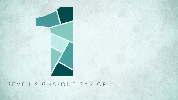 Series: 7 Signs / 1 Savior